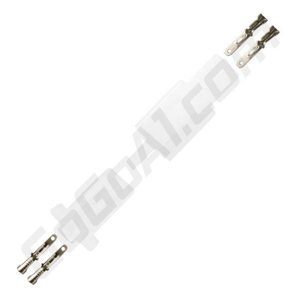 GoGoA1 10pc set 2 8mm 2 pin automotive 2 8 electrical wire connector/male  female cable terminal plug kits