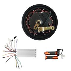 GoGoA1 BLDC 48V 1000W 10 Inch Gearless HUB MOTOR with drum brake Scooter Kit