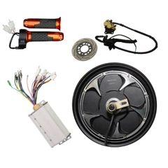 GoGoA1 BLDC 60V 1000W 10 Inch Gearless HUB MOTOR with disc brake Scooter Kit