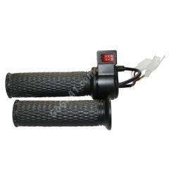 GoGoA1 Universal 12v 24v 36v 48v 60v 72v Electric Bike Throttle Grip with Switch