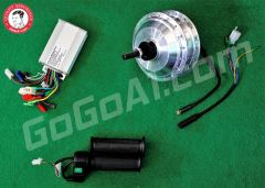 GoGoA1 36V 250W Bicycle Conversion Kit With Threads On Both Sides (Short Wire)