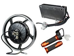 GoGoA1 17inch 2000W Brushless Electric Hub Motor Kit for Electric motorcycle Conversion