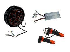 GoGoA1 10 inch 60V 1200W BLDC hub motor with Drum Brake scooter kit