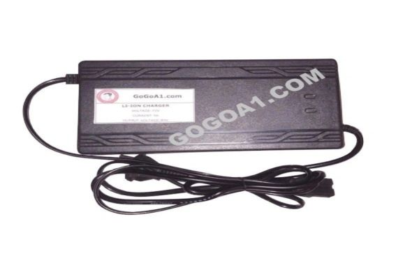 GoGoA1 72V 5A Lithium ion Battery Charger