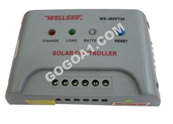 GoGoA1 MPPT SOLAR CHARGE CONTROLLER WS-MPPT30 10A 60V