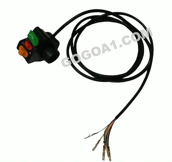 GoGoA1 Universal Electric Bicycle Indicator and Headlight Switch