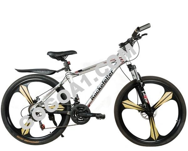 Rockefeller Mountain Bicycle with Aluminum frame and 26'' Magnesium wheels