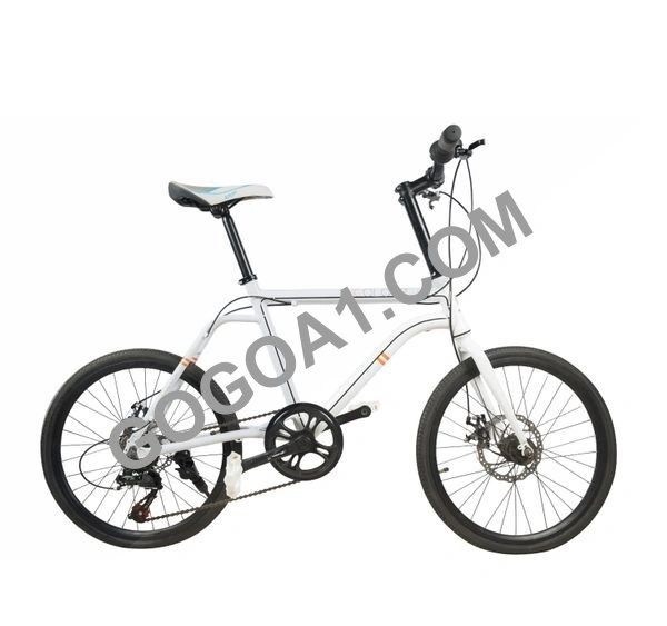 COLOUR Mountain Bicycle with High carbon steel frame and 20'' wheels