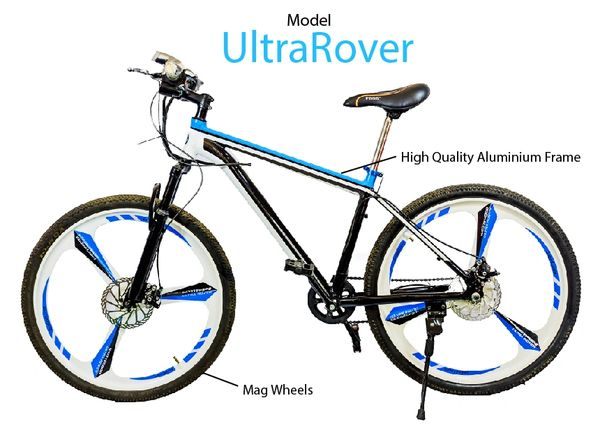 Ultra Rover Mountain Bicycle with Aluminum frame and 26'' Magnesium wheels