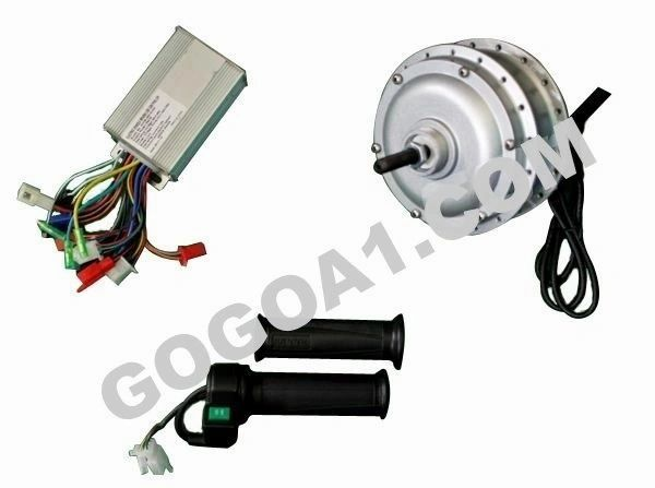 GoGoA1 36V/48V 350W Hub Motor For Fat Tyre With Threads On Both Side