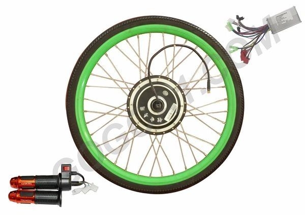 GoGoA1 48V BLDC Regenerative Reverse Function High Efficient Hub Motor With Tyre
