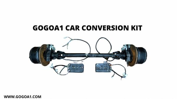 GoGoA1 2000W Hub Motor Electric Car Conversion Kit