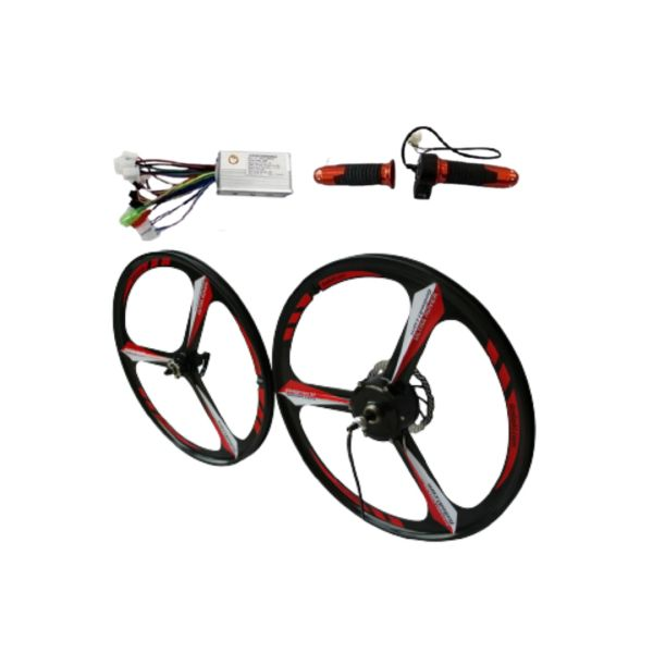 GoGoA1 36V/48V 250W Magnesium Wheel Hub Motor Electric Bicycle Conversion Kit
