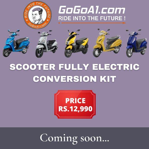 GoGoA1 Scooter Electric Conversion Kit
