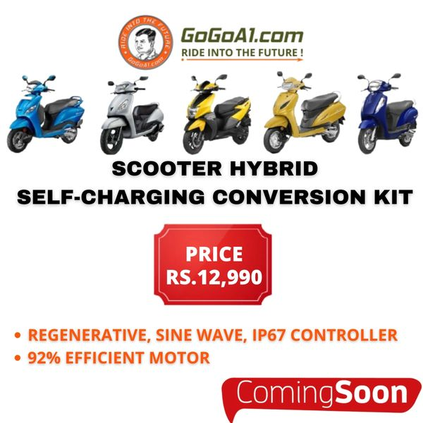 GoGoA1 Scooter Hybrid Conversion Kit