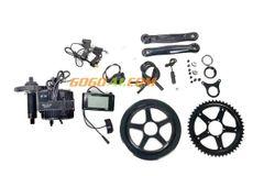 GoGoA1 36V 250W Mid Drive Electric Bicycle Conversion Kit