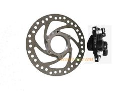 Disc Brake with Catcher