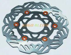 Mountain Road Fixed Gear Bicycle Mechanical Front Disc Brake Caliper Set Kit Aluminium Alloy 160 mm