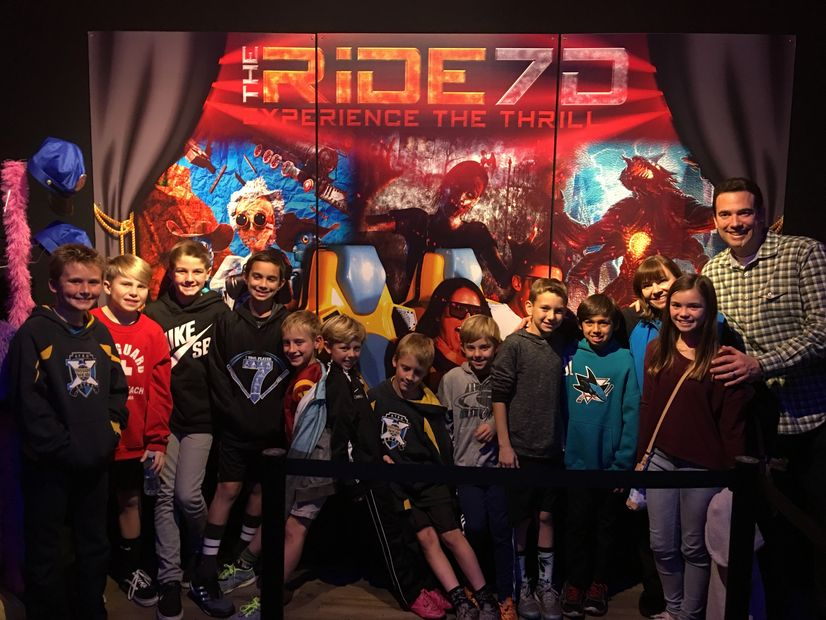 Kids Birthday Parties at THE RiDE 7D