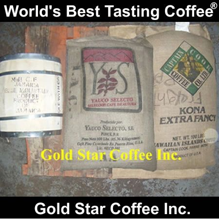 6lb / 2 of each Jamaica Blue Mountain, Hawaii Kona, Yauco Selecto GREEN