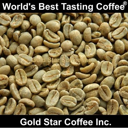 Ethiopian Yirgacheffe Fair Trade Organic Green Unroasted