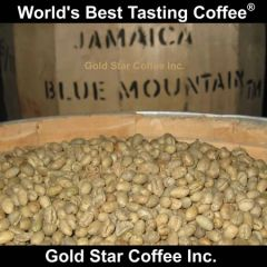 Jamaica Blue Mountain Peaberry Green Unroasted