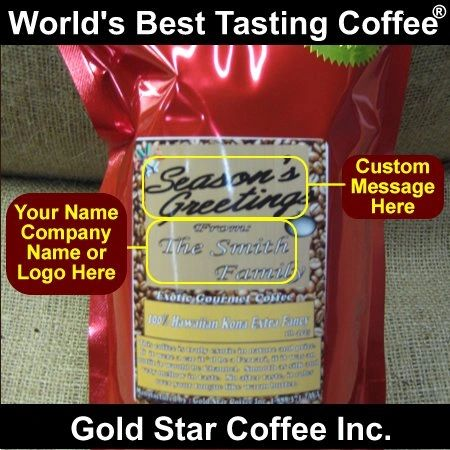 Private Label Hawaii Kona Extra Fancy Coffee