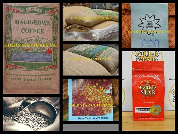 Hawaiian Maui Red Catuai - Top Crop Green Unroasted