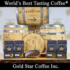 4 lb 100% Jamaica Blue Mountain Peaberry Coffee