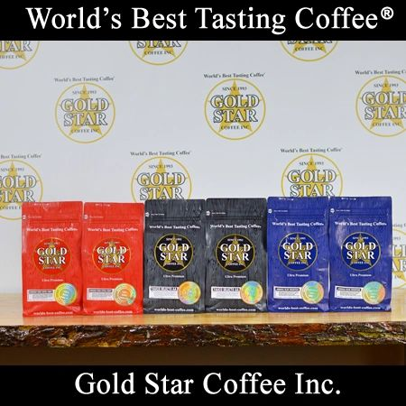 6 lb Jamaica Blue Mountain & Hawaii Kona & Peurto Rico Yauco Selecto Coffee Combo