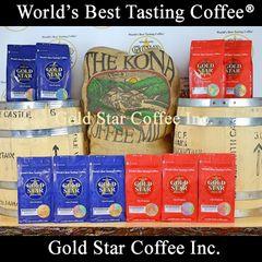 10 lb Jamaican Blue Mountain & Hawaii Kona DARK ROAST Coffee