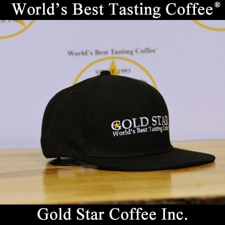 Gold Star Coffee Snapback Hat