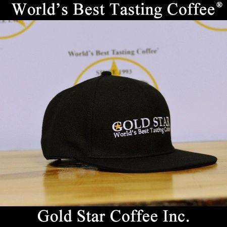 Gold Star Coffee Snapback Hat
