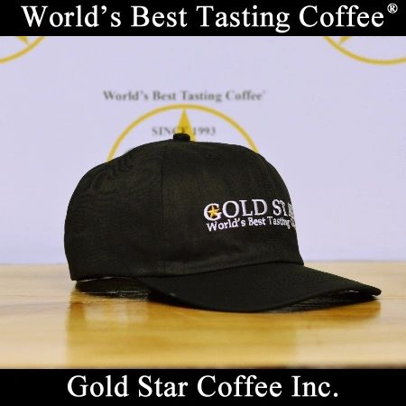 Gold Star Coffee Strapback Hat