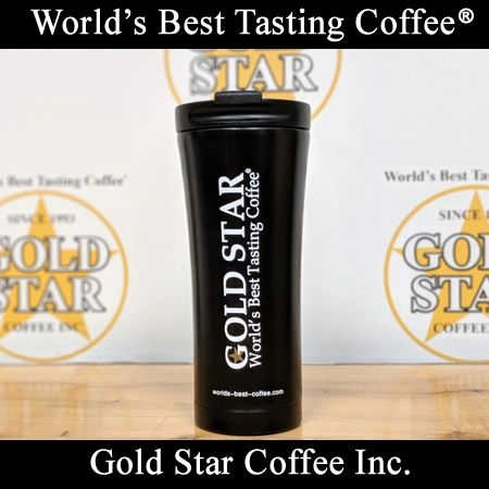 Gold Star Coffee Stainless Steel Travel Mug
