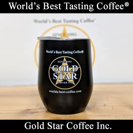 Gold Star Coffee Stainless Steel Tumbler