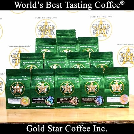 **Un-Roasted Green** Custom Combo Coffee Pack - 10lb