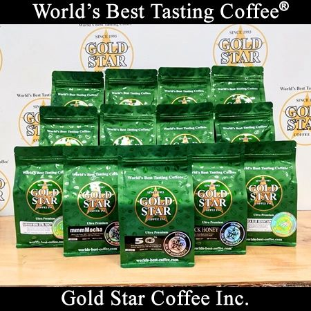 **Un-Roasted Green** Custom Combo Coffee Pack - 6lb