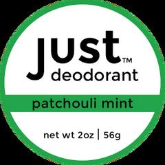 Deodorant Patchouli Mint