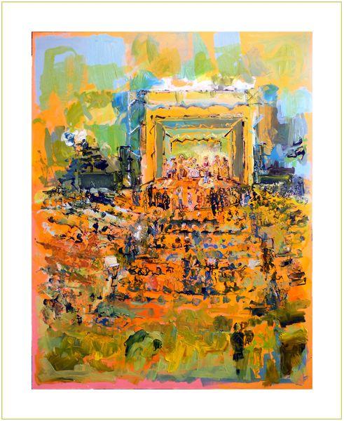 1601-01v The Concert no. 4 (Kregness Thorsen Original Oil)