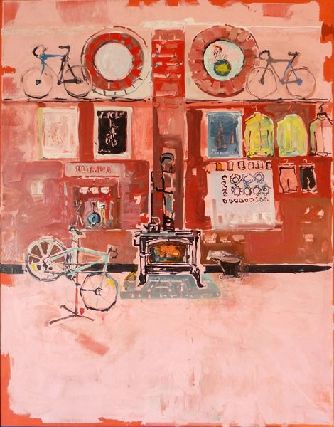 1904-02v Bicycle Shop no.2 | JK Thorsen