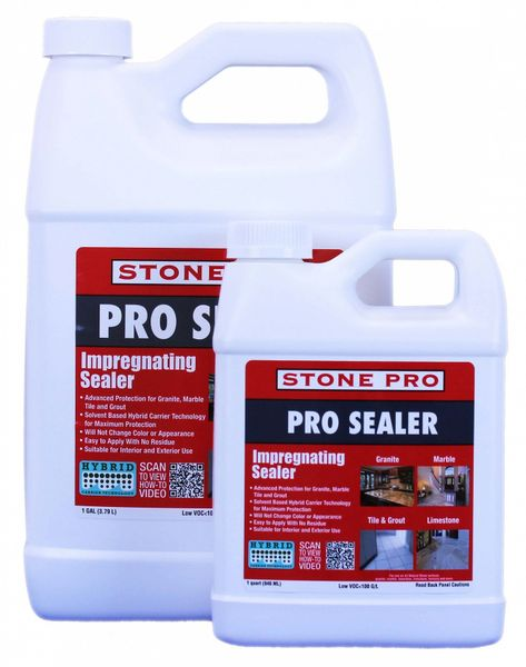 Stone Pro Pro Sealer Gallon Leon Cleaning Supply