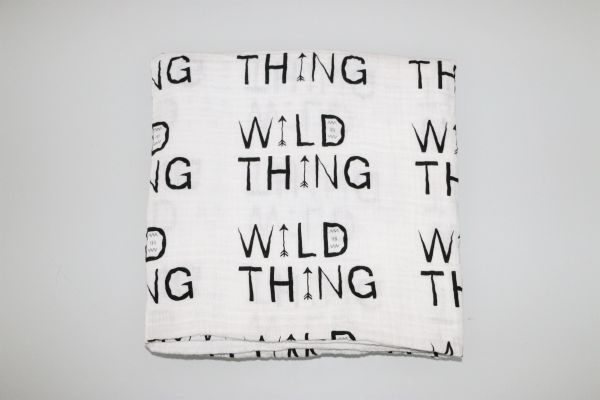 Wild Thing Swaddle Blanket