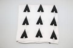 Confetti Teepee Swaddle Blanket