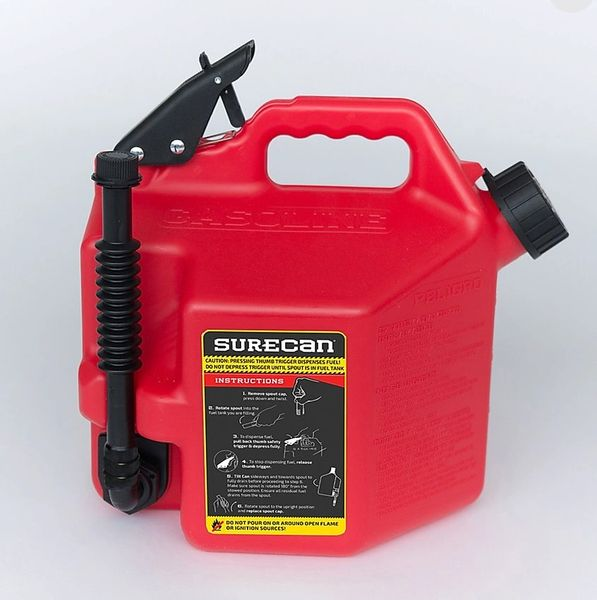 Trials Gas Can Sure Can 2.2 Gallon Trial