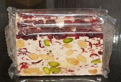 Cranberry, Pistachio & Almond Nougat