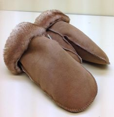Shearling Men's Mittens