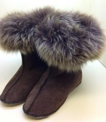 Shearling Highlanders Boot Slipper