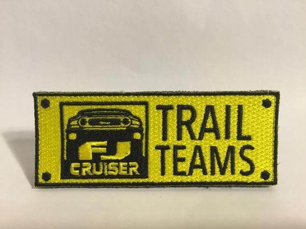FJ Cruiser Trail Teams Patch