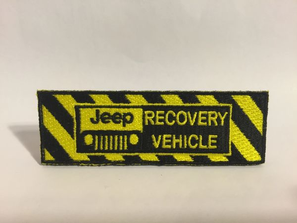 Jeep Recovery Vehicle Patch
